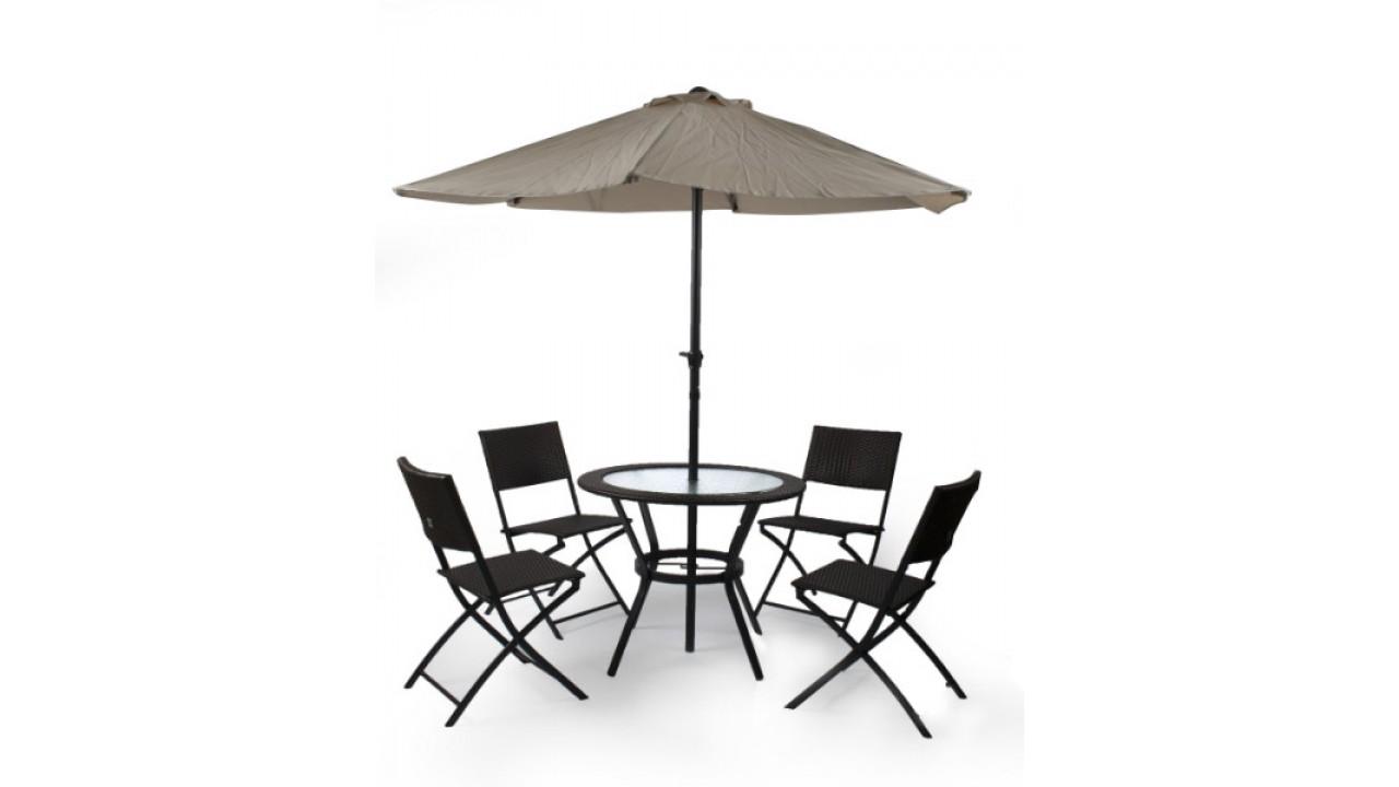 Купить Комплект мебели на 4-ых Garden4 в интернет магазине дизайнерской мебели и аксессуаров для дома и дачи