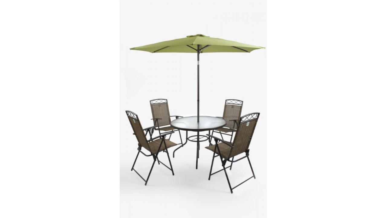 Купить Комплект мебели на 4-ых Garden2 в интернет магазине дизайнерской мебели и аксессуаров для дома и дачи