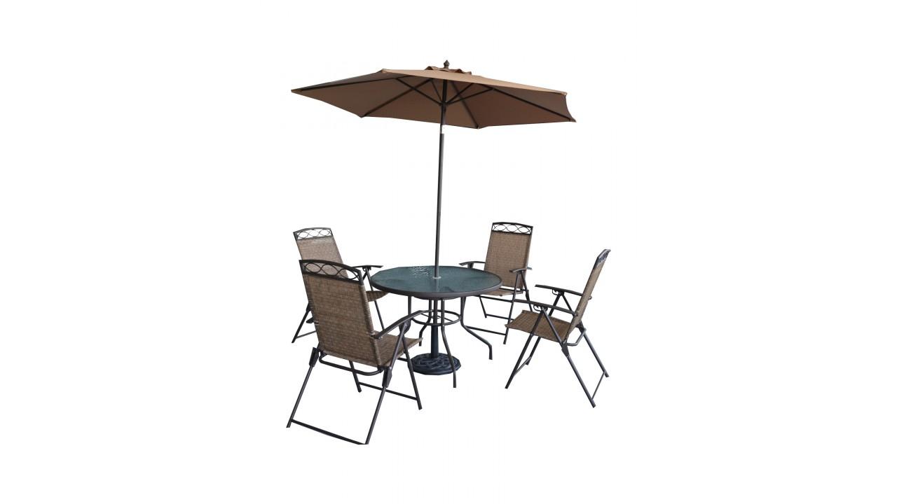 Купить Комплект мебели на 4-ых Garden1 в интернет магазине дизайнерской мебели и аксессуаров для дома и дачи