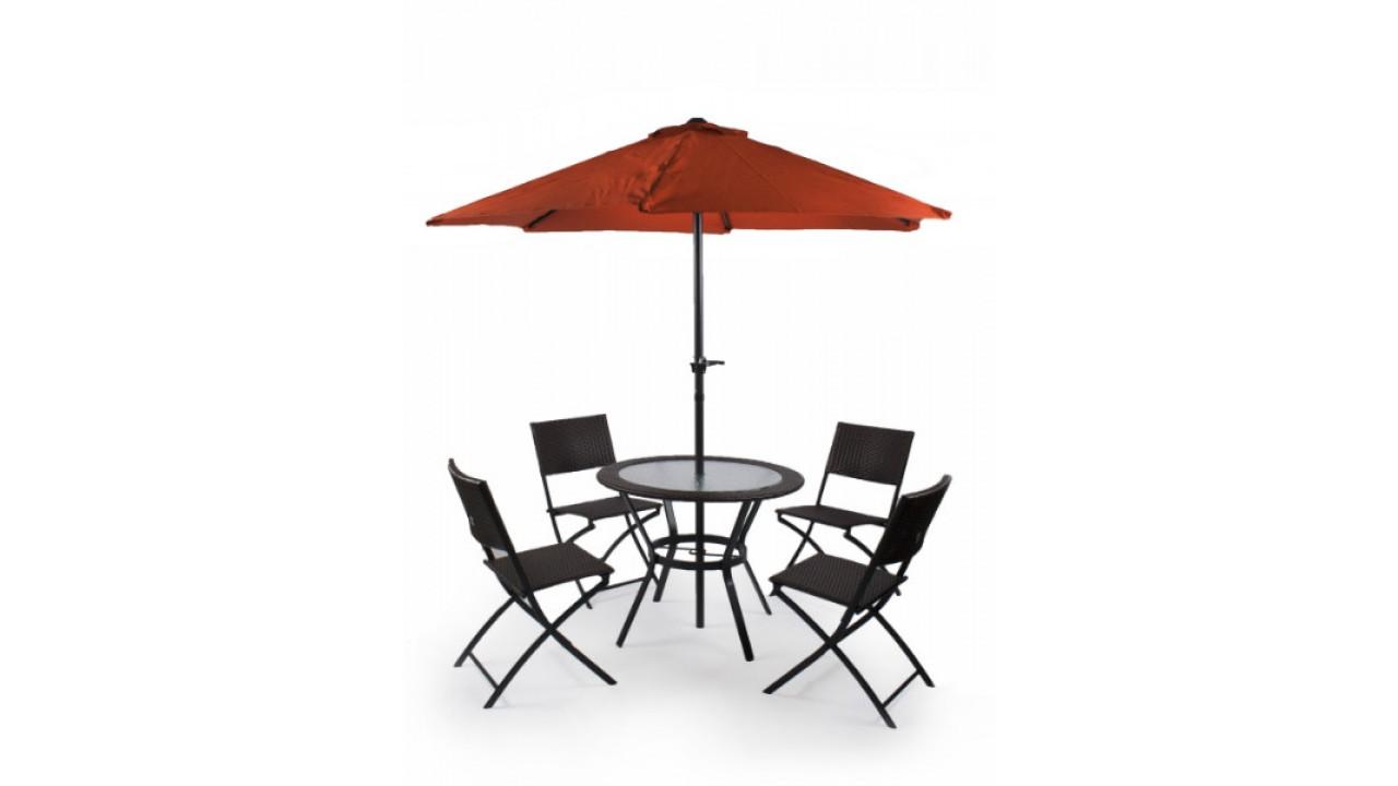 Купить Комплект мебели на 4-ых Garden3 в интернет магазине дизайнерской мебели и аксессуаров для дома и дачи