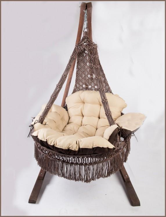 Купить Подвесное кресло качели CARTAGENA с подушками БЕЗ каркаса в интернет магазине дизайнерской мебели и аксессуаров для дома и дачи