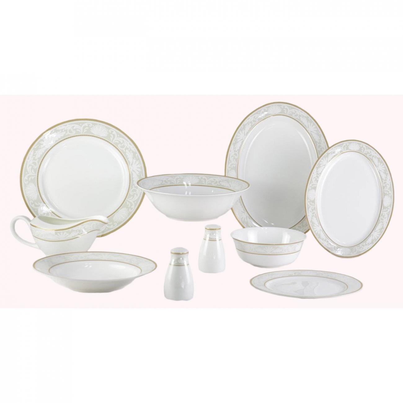 Купить Набор посуды Marbella 26 pcs dinner set в интернет магазине дизайнерской мебели и аксессуаров для дома и дачи