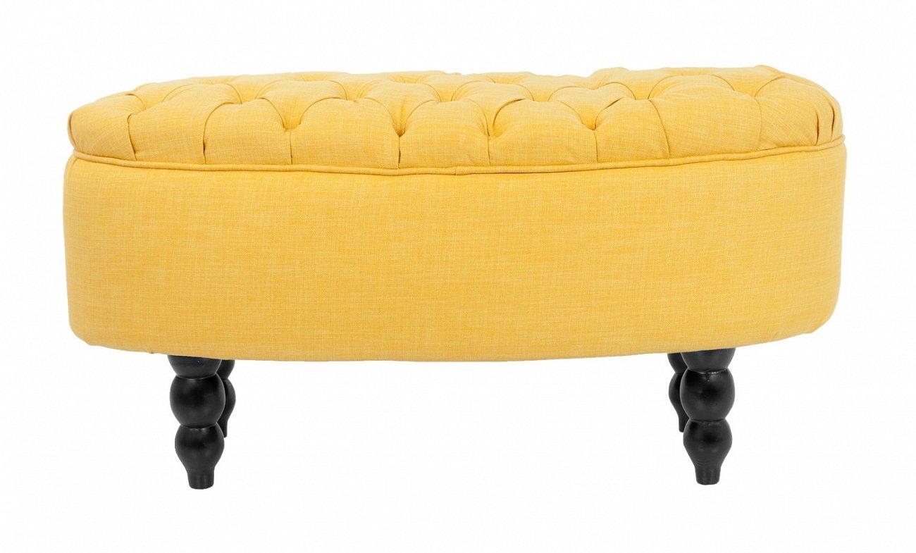 Купить Пуф Wattley yellow в интернет магазине дизайнерской мебели и аксессуаров для дома и дачи