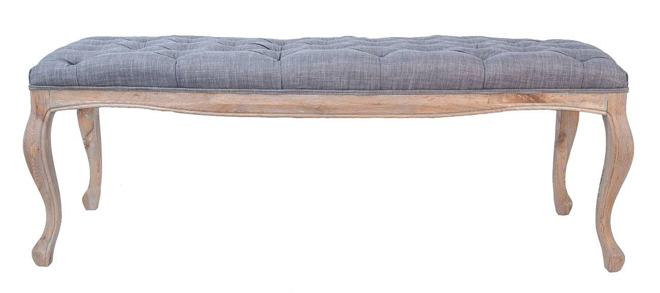 Купить Банкетка Kina grey в интернет магазине дизайнерской мебели и аксессуаров для дома и дачи