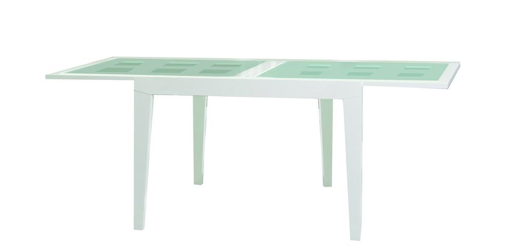 Купить Обеденный стол Benson 120 Белый в интернет магазине дизайнерской мебели и аксессуаров для дома и дачи