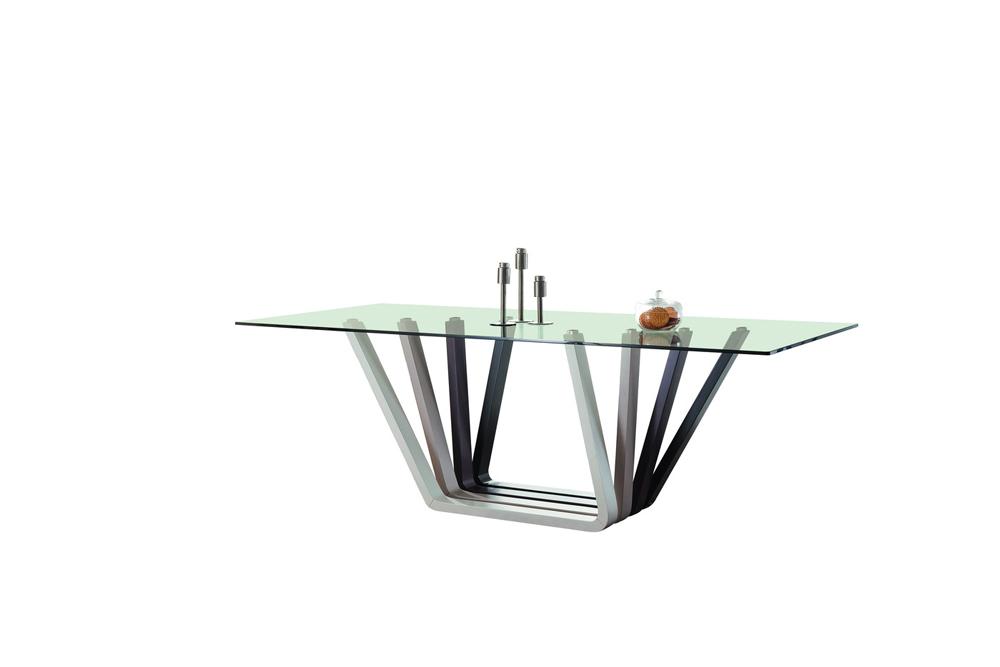 Купить Обеденный стол Giardino Серебро в интернет магазине дизайнерской мебели и аксессуаров для дома и дачи