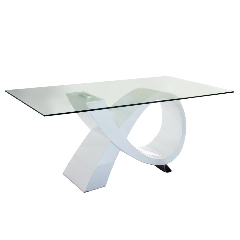 Купить Обеденный стол Louis Vuitton Белый в интернет магазине дизайнерской мебели и аксессуаров для дома и дачи