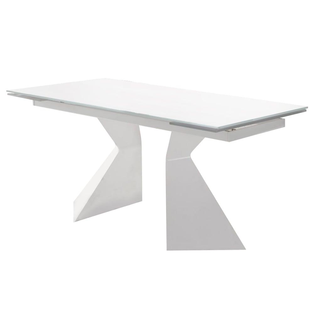 Купить Обеденный стол Finestra на ножках Белый в интернет магазине дизайнерской мебели и аксессуаров для дома и дачи