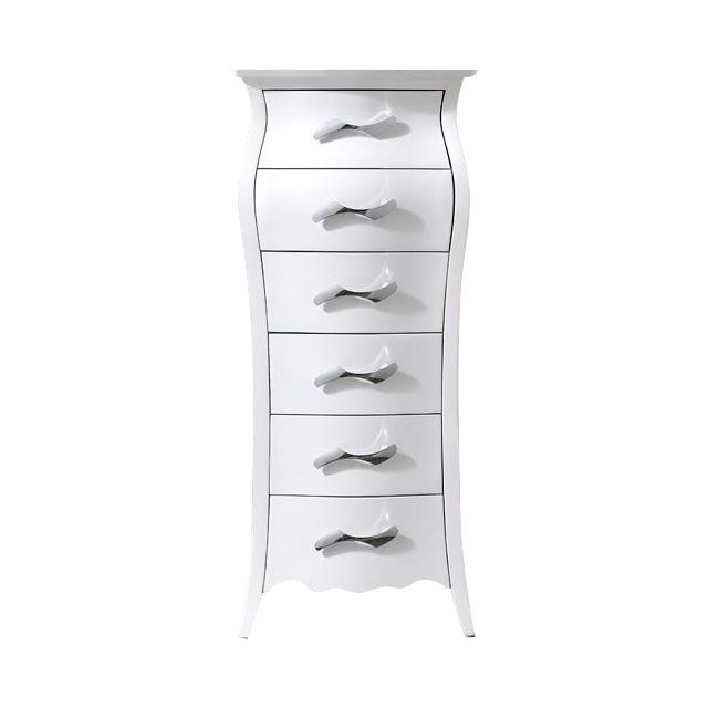 Купить Комод вертикальный Freedom Белый в интернет магазине дизайнерской мебели и аксессуаров для дома и дачи