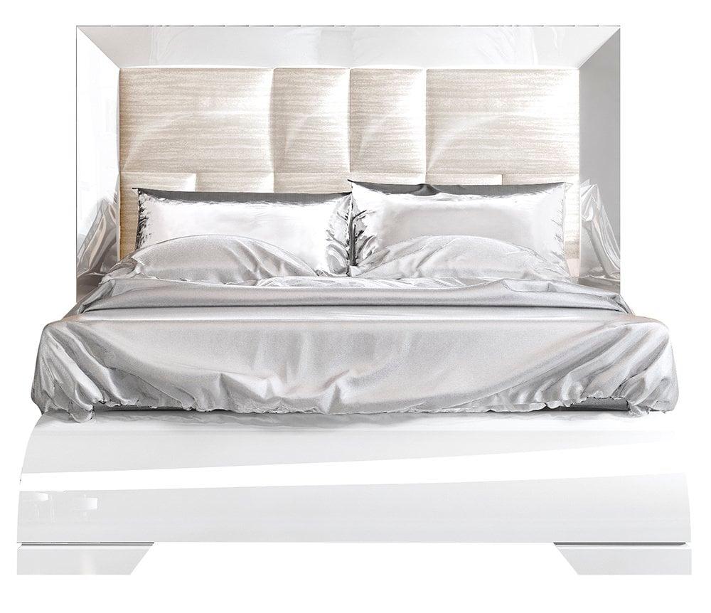 Купить Кровать Luogo160х200 Белый в интернет магазине дизайнерской мебели и аксессуаров для дома и дачи