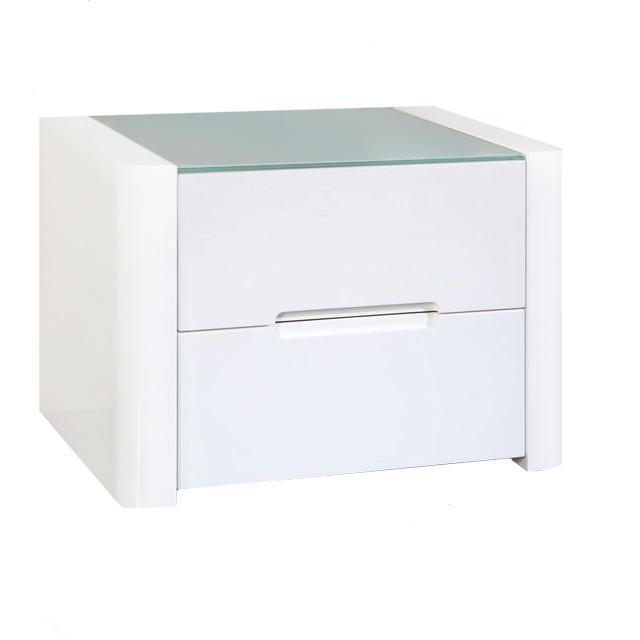 Купить Тумба прикроватная Fiume 2 Белая в интернет магазине дизайнерской мебели и аксессуаров для дома и дачи