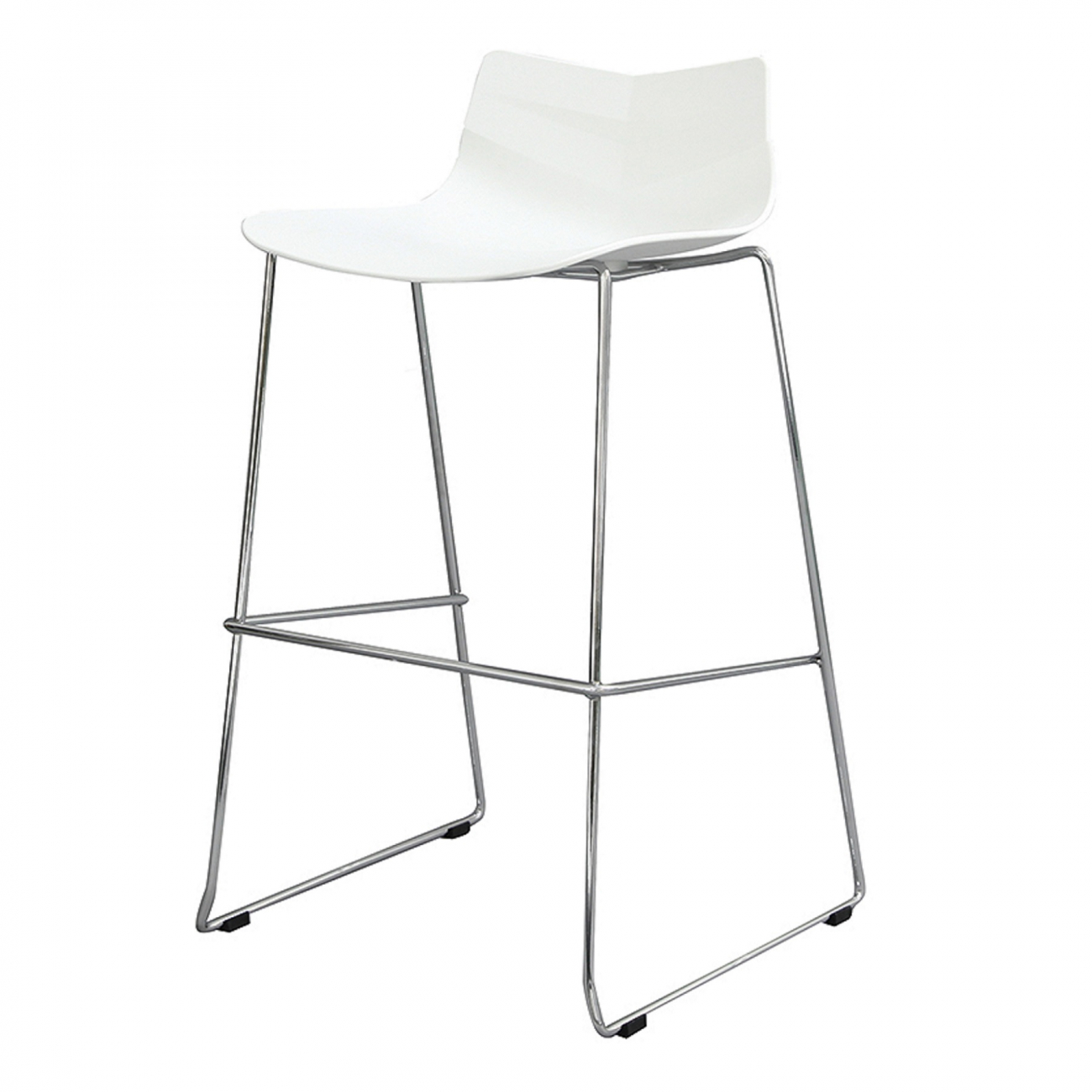 Купить Стул барный Rosemary Белый в интернет магазине дизайнерской мебели и аксессуаров для дома и дачи
