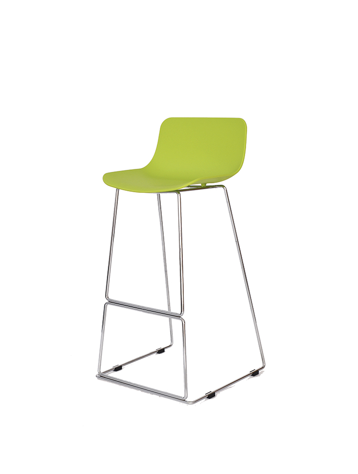 Купить Стул барный CT-398 лайм в интернет магазине дизайнерской мебели и аксессуаров для дома и дачи