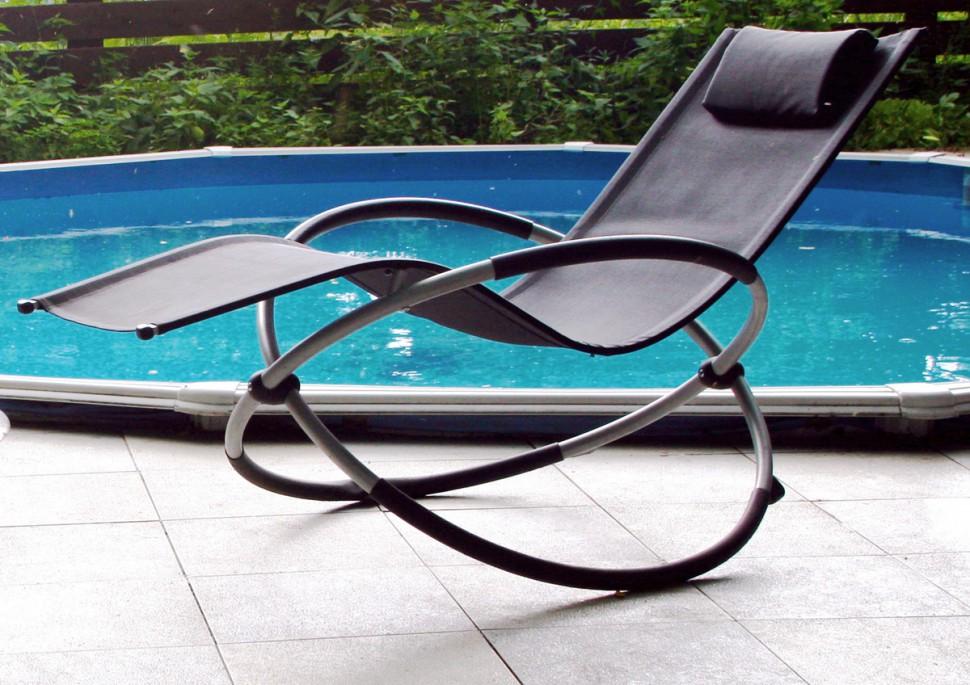 Купить Шезлонг-качалка CONCEPT в интернет магазине дизайнерской мебели и аксессуаров для дома и дачи