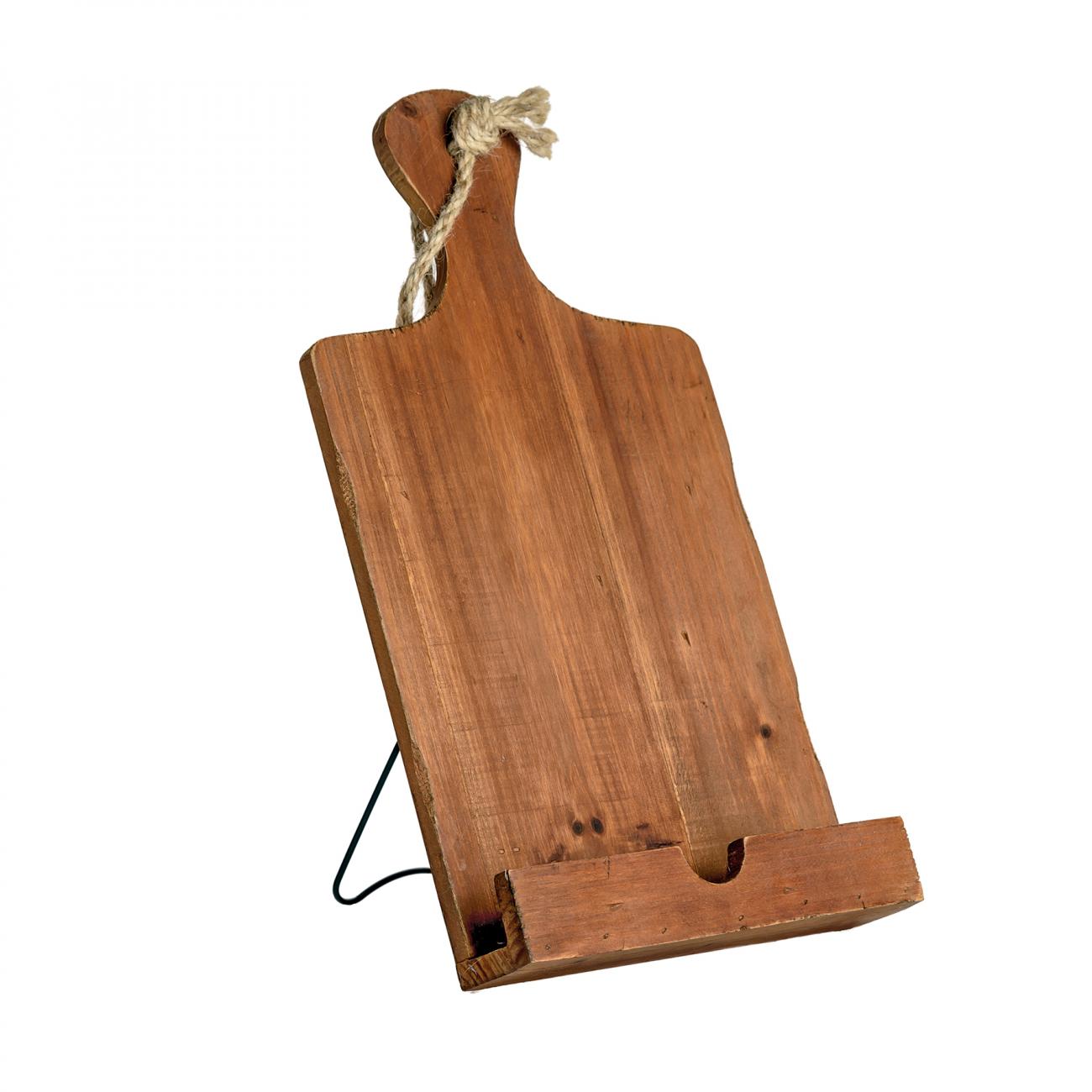 Купить Подставка деревянная для планшета Tablet Holder в интернет магазине дизайнерской мебели и аксессуаров для дома и дачи
