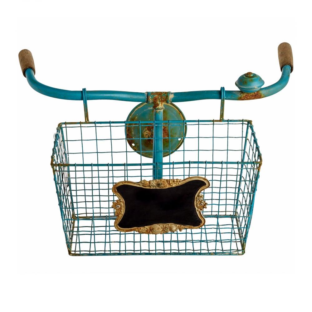 Фото Настенный декор Велосипедная корзина. Купить с доставкой