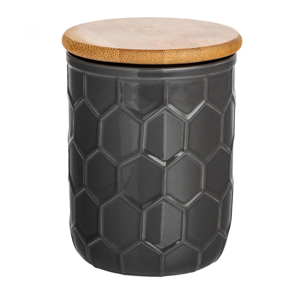Ёмкость для хранения Honeycomb Чёрная Маленькая