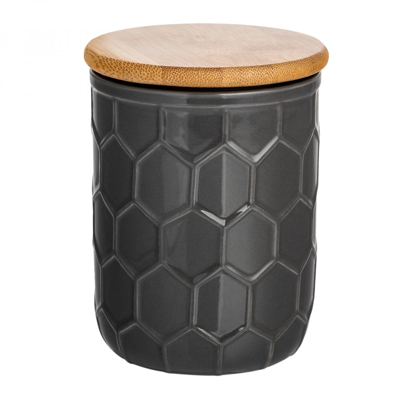 Купить Ёмкость для хранения Honeycomb Чёрная Маленькая в интернет магазине дизайнерской мебели и аксессуаров для дома и дачи