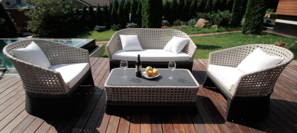 Купить Лаундж сет CROCODILE- 202130 в интернет магазине дизайнерской мебели и аксессуаров для дома и дачи
