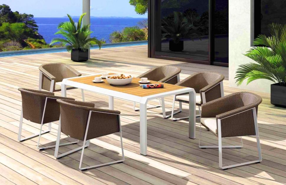 Купить Обеденная группа TESNO-202420 в интернет магазине дизайнерской мебели и аксессуаров для дома и дачи