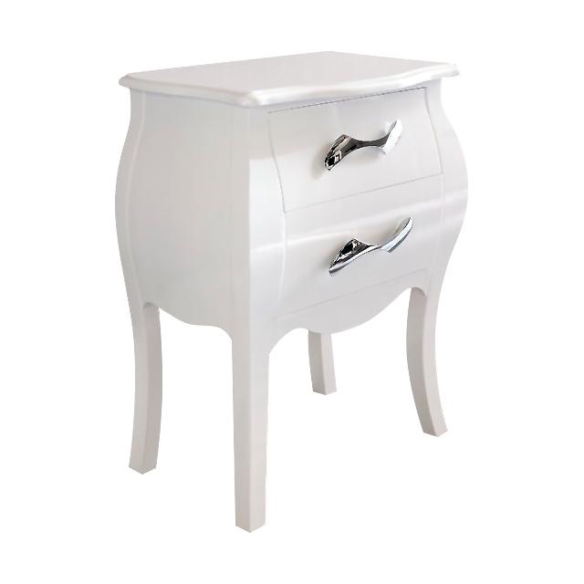 Купить Тумба прикроватная Varita белая в интернет магазине дизайнерской мебели и аксессуаров для дома и дачи