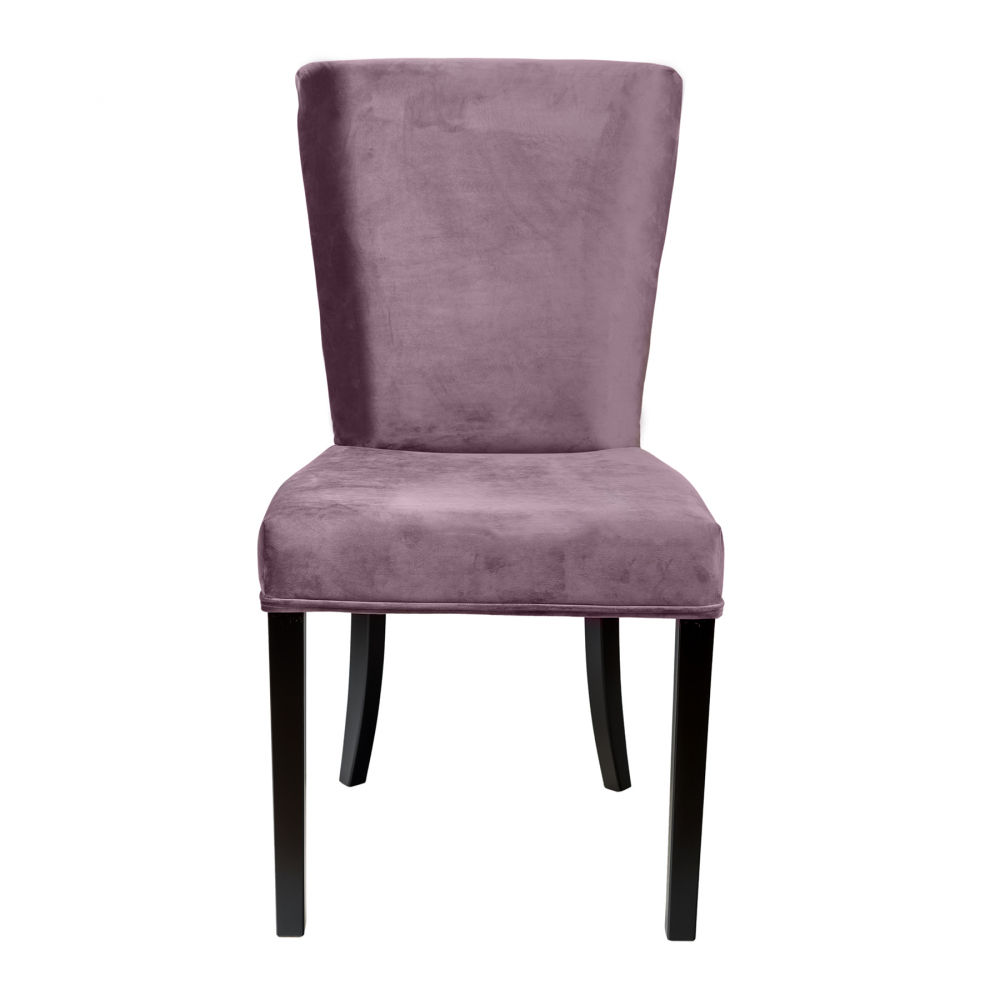 Фото Стул Sophisticated Серо-Фиолетовый Микровелюр. Купить с доставкой