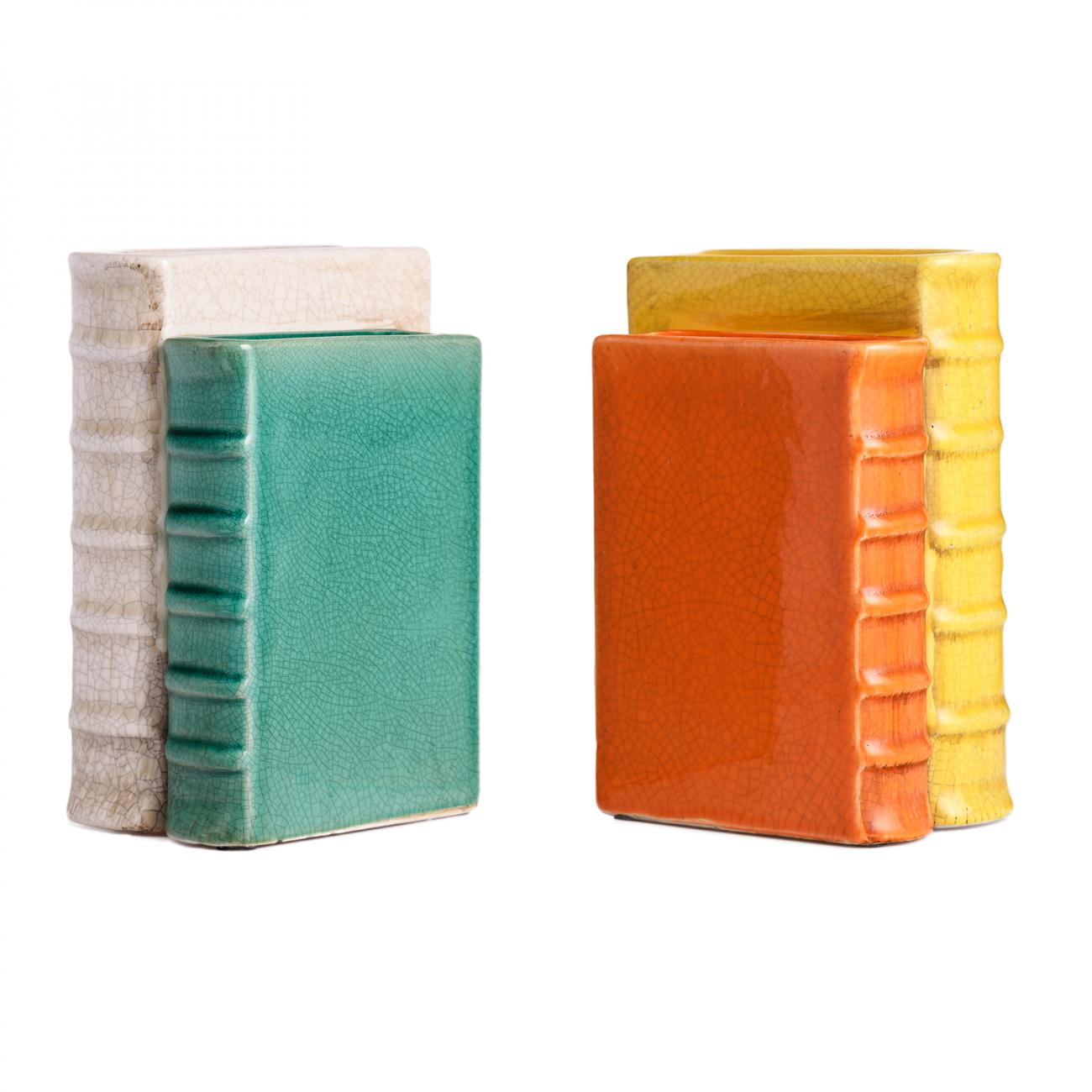 Купить Набор держателей для книг с вазами для цветов Corde Puerto в интернет магазине дизайнерской мебели и аксессуаров для дома и дачи