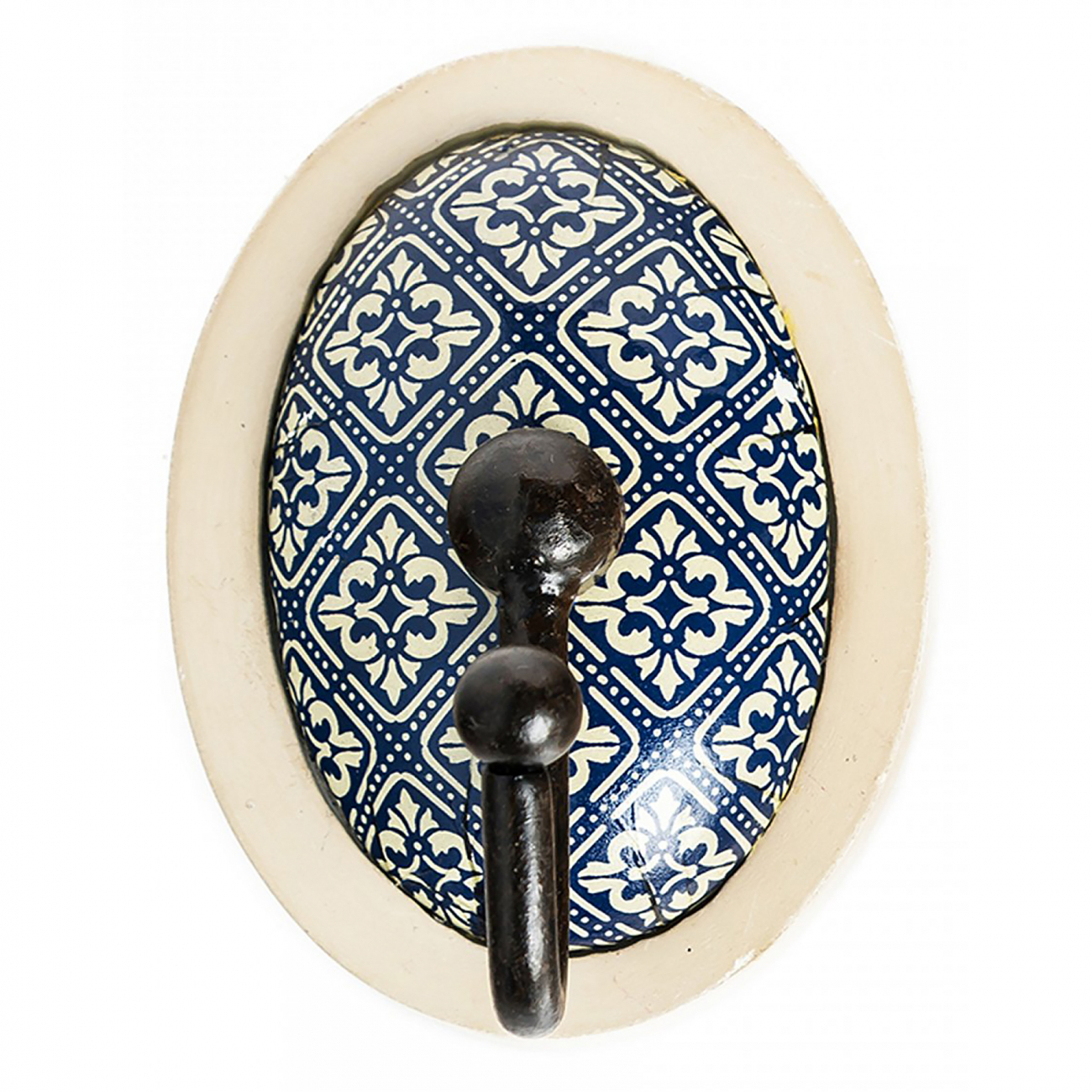 Купить Настенный крючок Wood Hooks Голубой в интернет магазине дизайнерской мебели и аксессуаров для дома и дачи
