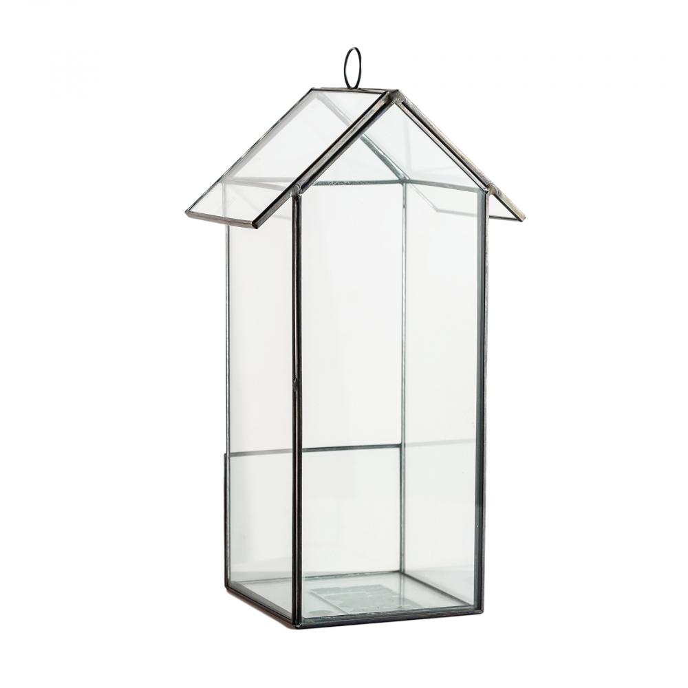 Флорариум стеклянный для цветов Bird House