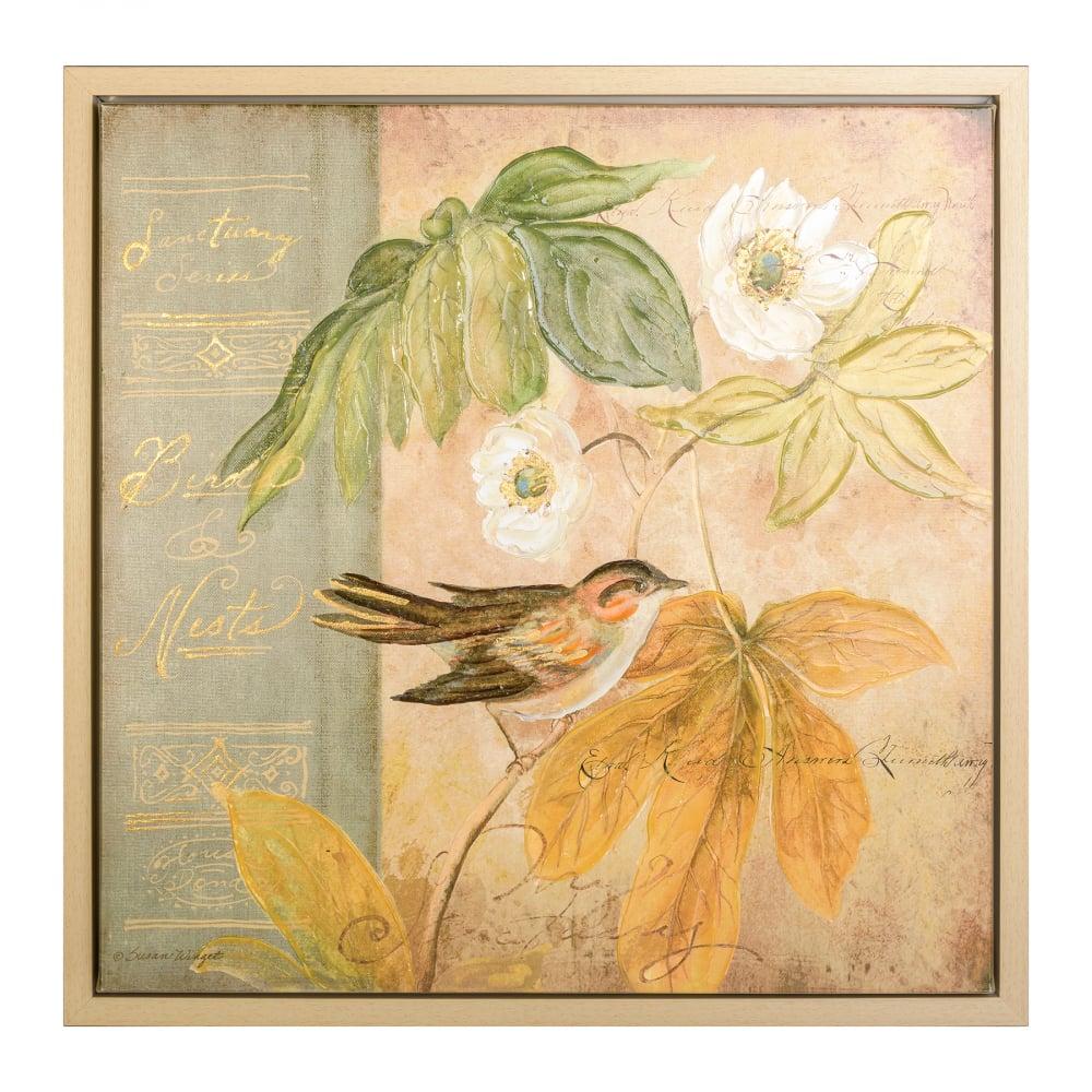 Панно ручной работы в стиле прованс Susan  Winget Canvas DG-HOME