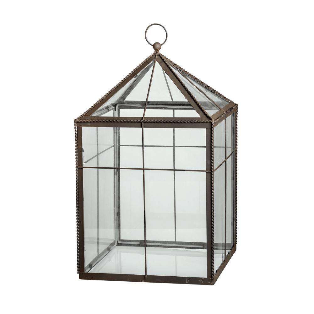 Флорариум стеклянный Greenhouse Большой