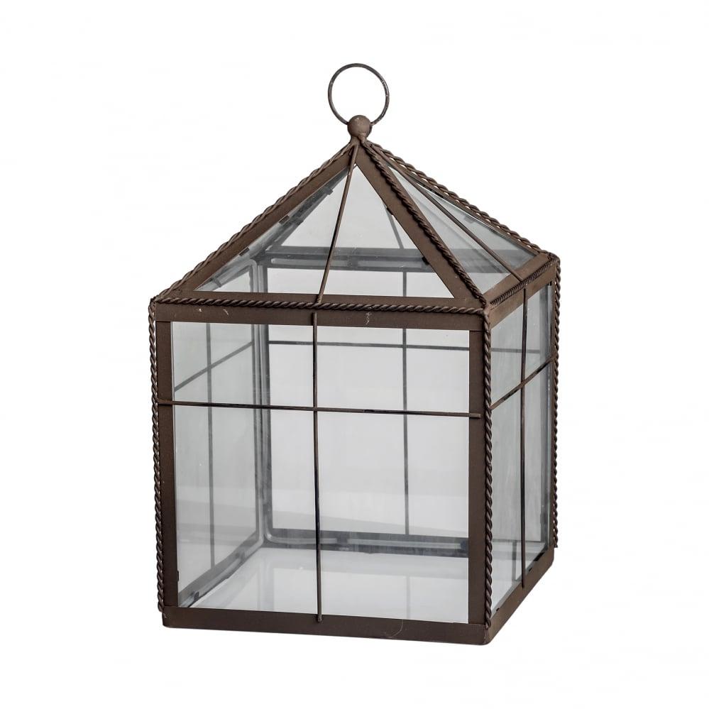 Флорариум стеклянный Greenhouse Маленький