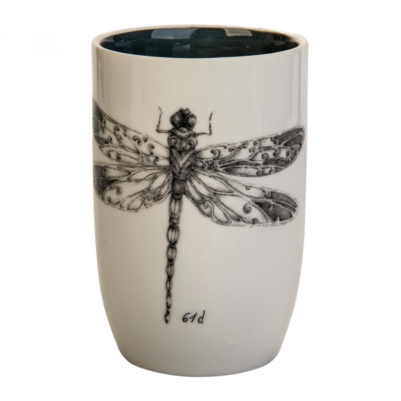 Купить Кружка с рисунком Стрекоза в интернет магазине дизайнерской мебели и аксессуаров для дома и дачи