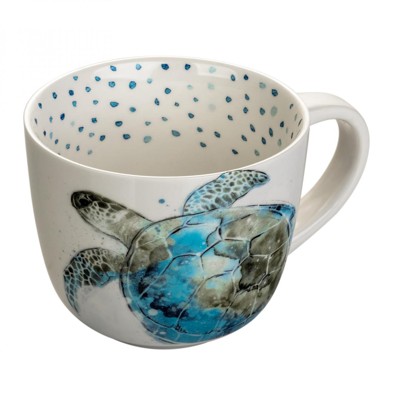 Купить Чашка в морском стиле Черепаха в интернет магазине дизайнерской мебели и аксессуаров для дома и дачи