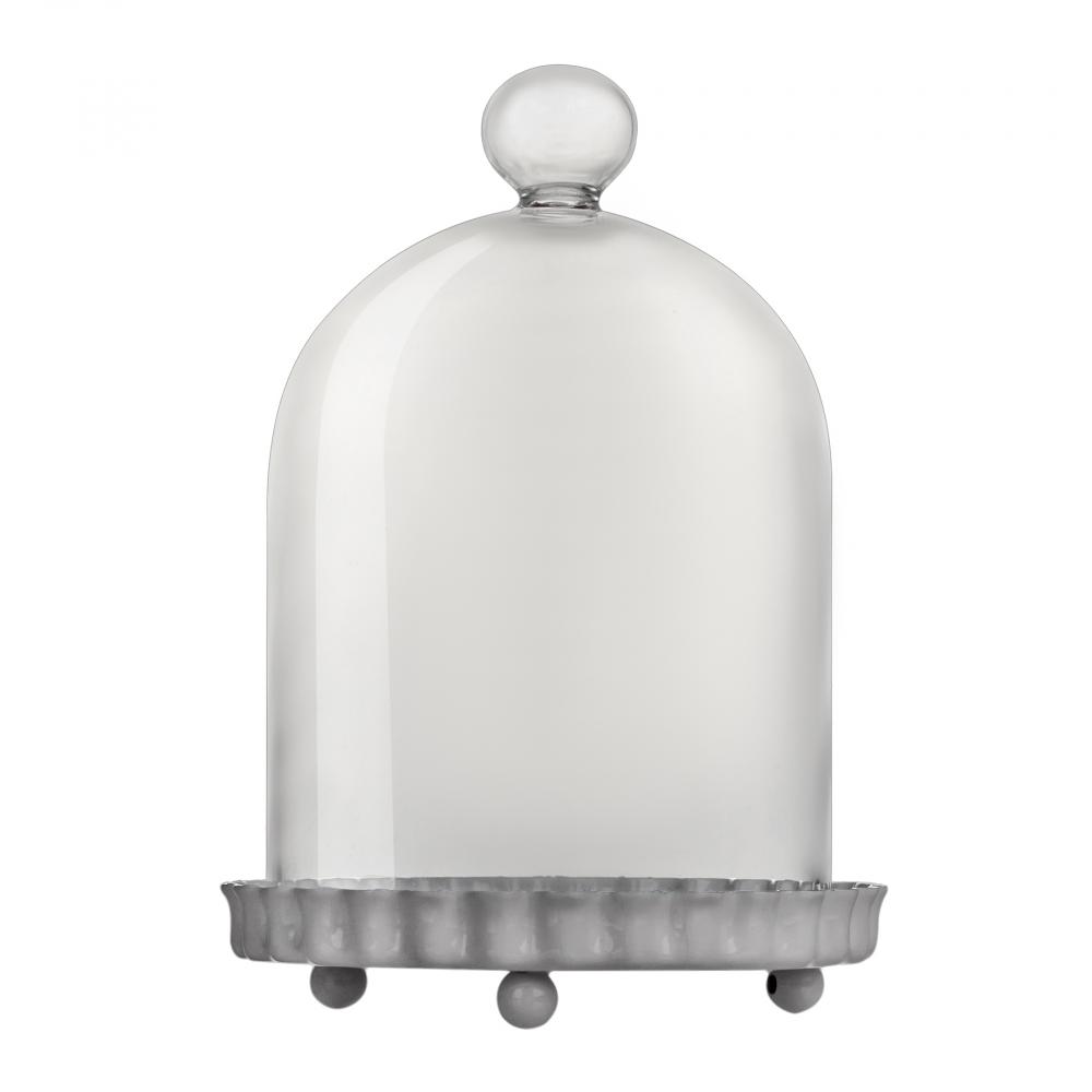 Фото Купол декоративный Макаронс Белый. Купить с доставкой