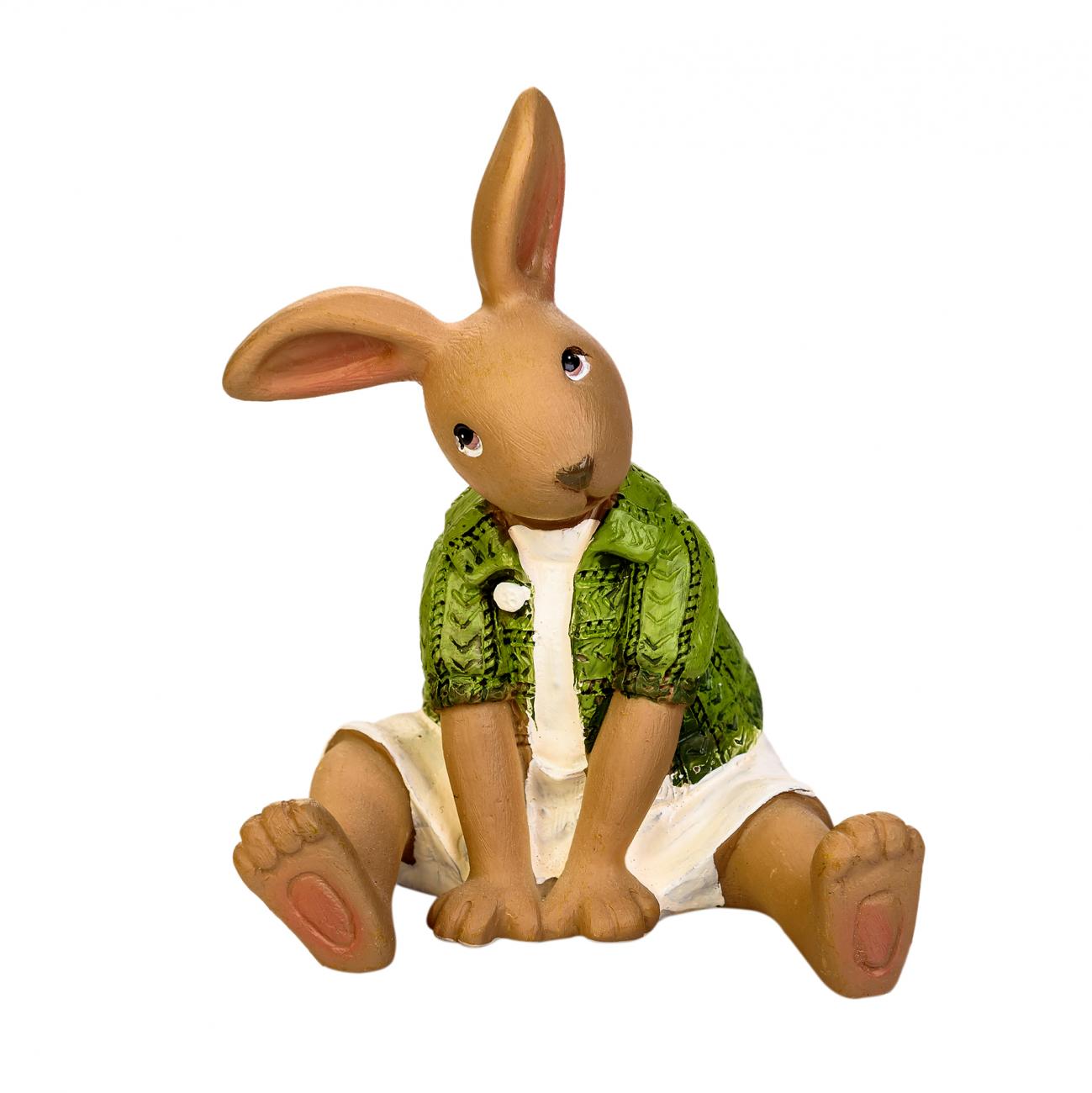 Купить Статуэтка Семья Кроликов Дочка в интернет магазине дизайнерской мебели и аксессуаров для дома и дачи