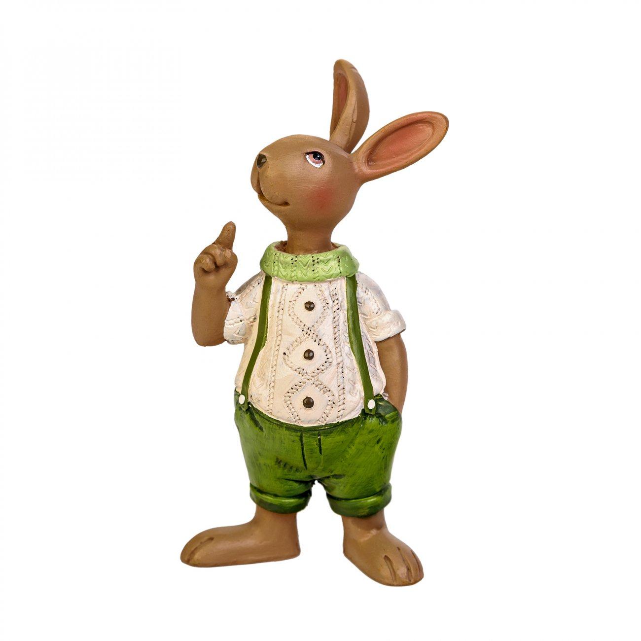 Купить Статуэтка Семья Кроликов Папа в интернет магазине дизайнерской мебели и аксессуаров для дома и дачи