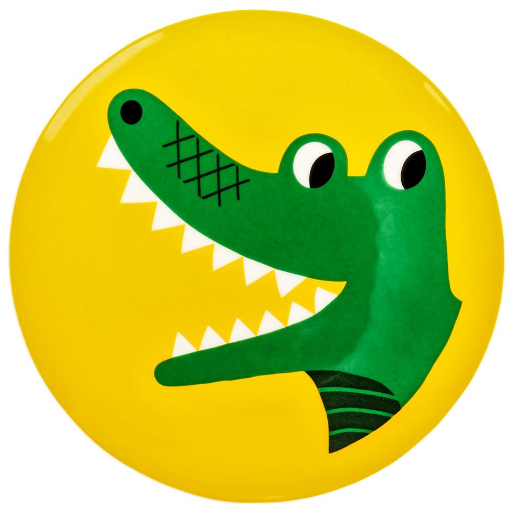 Фото Тарелка Крокодильчик. Купить с доставкой
