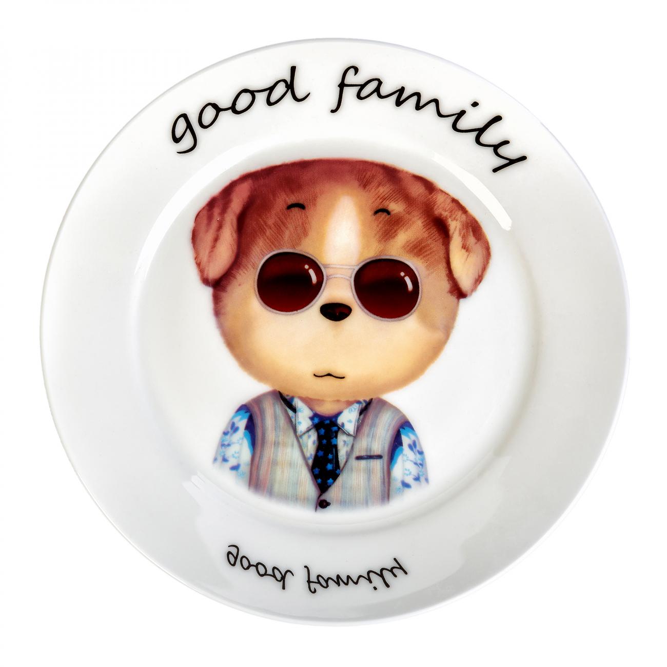 Купить Тарелка Good Family Папа в интернет магазине дизайнерской мебели и аксессуаров для дома и дачи