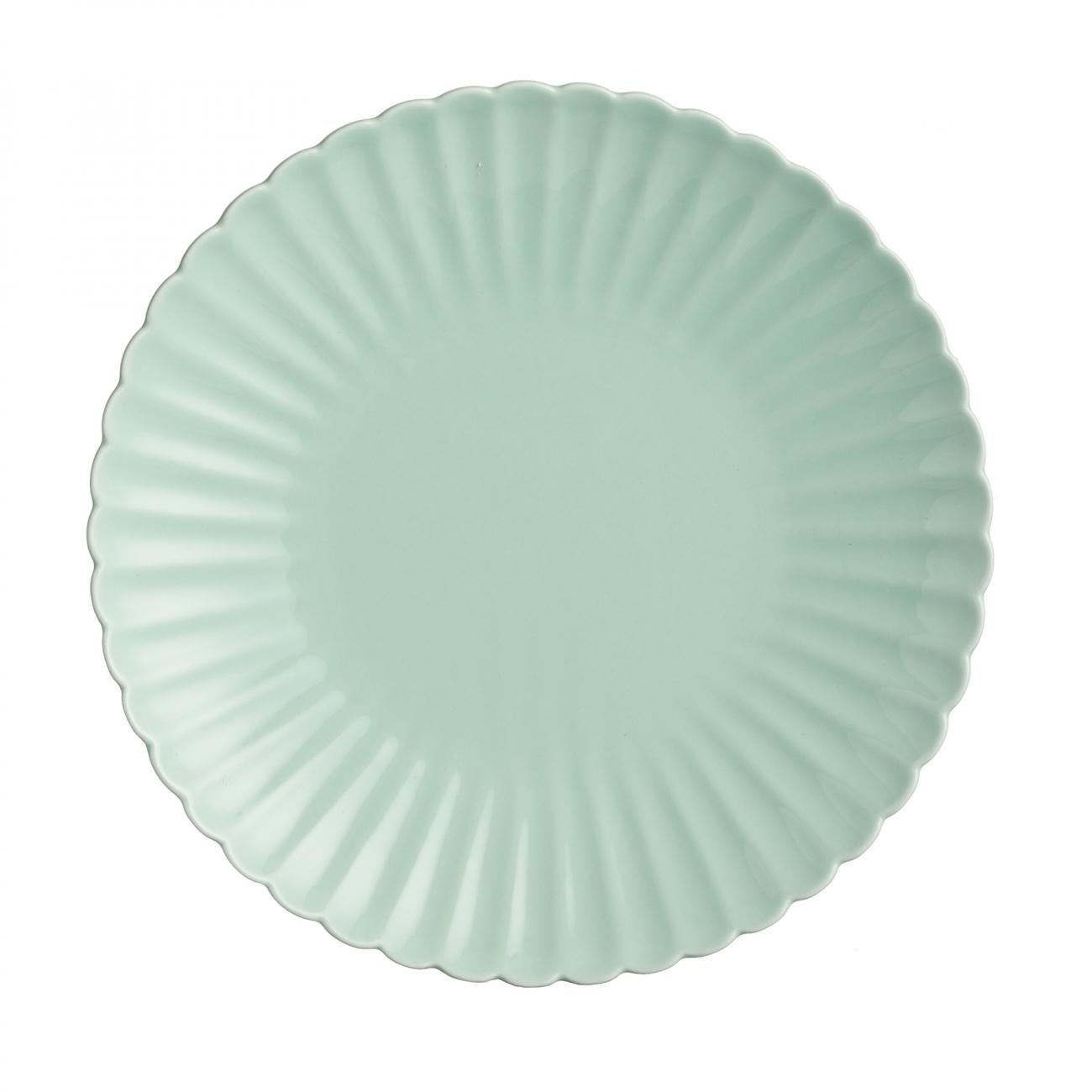 Купить Тарелка Coral Мятная в интернет магазине дизайнерской мебели и аксессуаров для дома и дачи