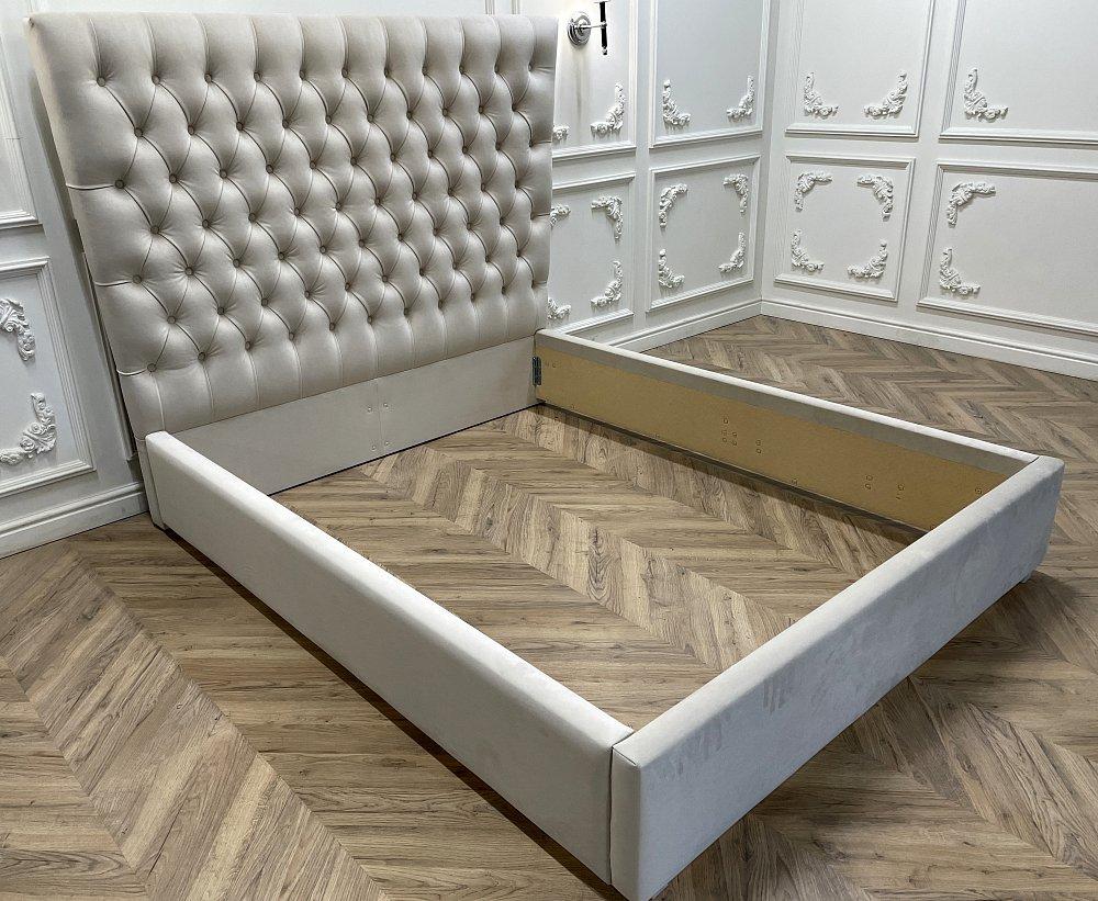 Кровать QuickSand 180х200 Велюр Светло-бежевый Р