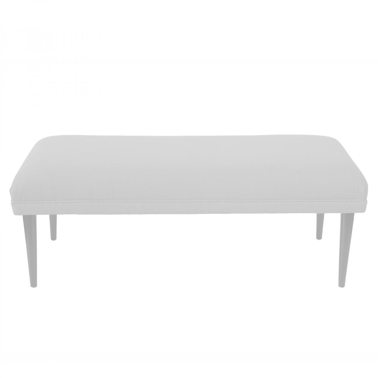 Купить Банкетка Epoch white Молочный Велюр в интернет магазине дизайнерской мебели и аксессуаров для дома и дачи