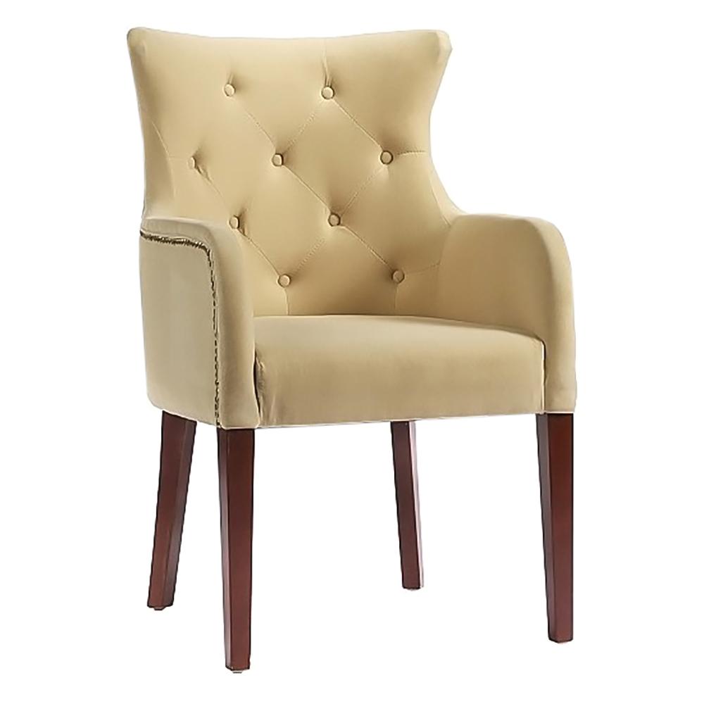 Кресло Rochester Молочное