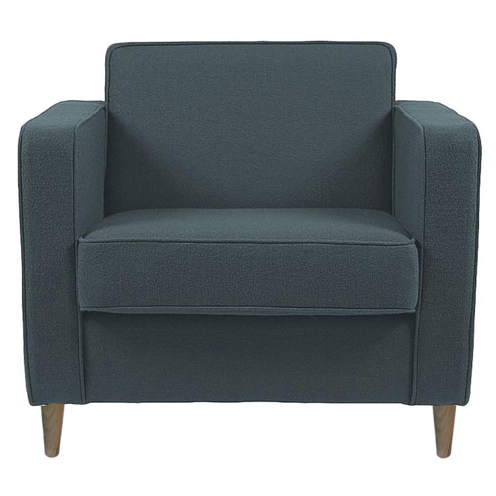 Фото Кресло George Тёмно-Зелёный Микровелюр. Купить с доставкой