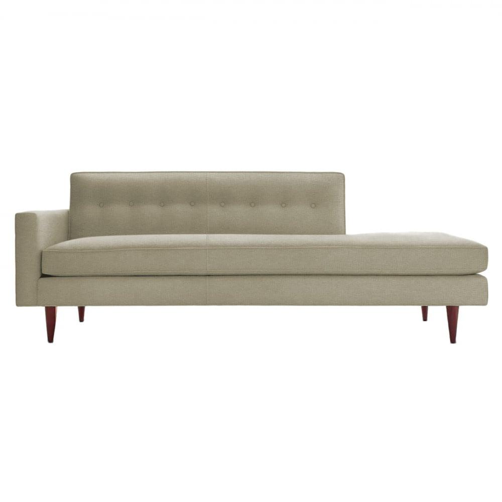 Диван Bantam Studio Sofa Светло-Серый Микровелюр