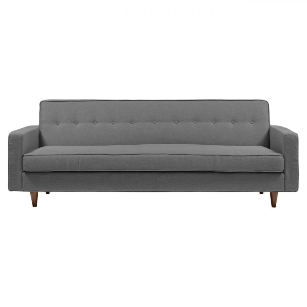 Диван Bantam Sofa Большой Лён Серый