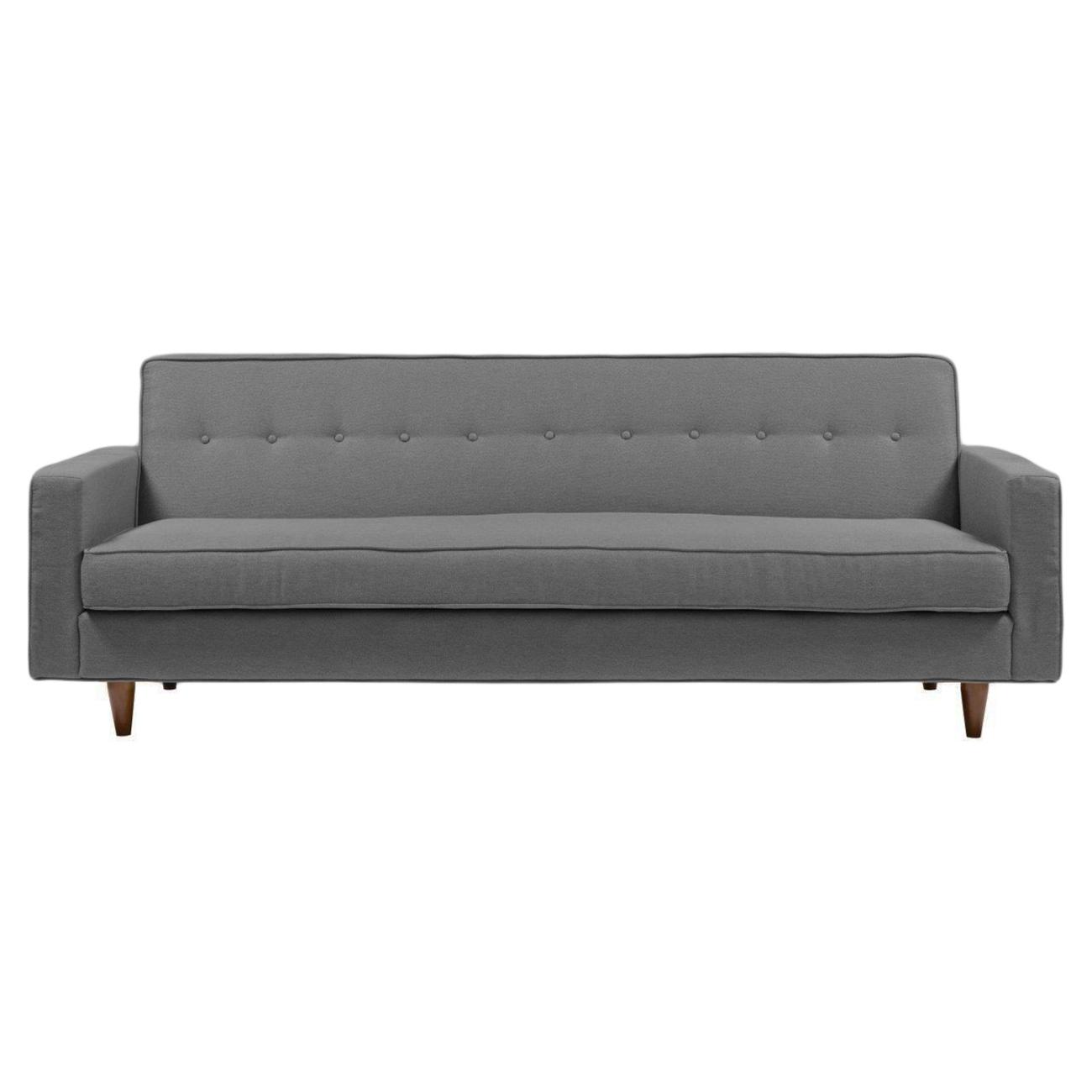 Купить Диван Bantam Sofa Большой Лён Серый в интернет магазине дизайнерской мебели и аксессуаров для дома и дачи