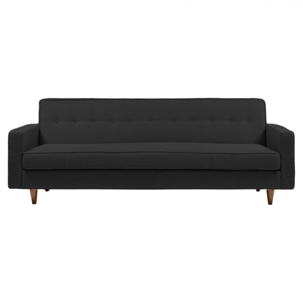 Диван Bantam Sofa Большой Лён Тёмно-Серый