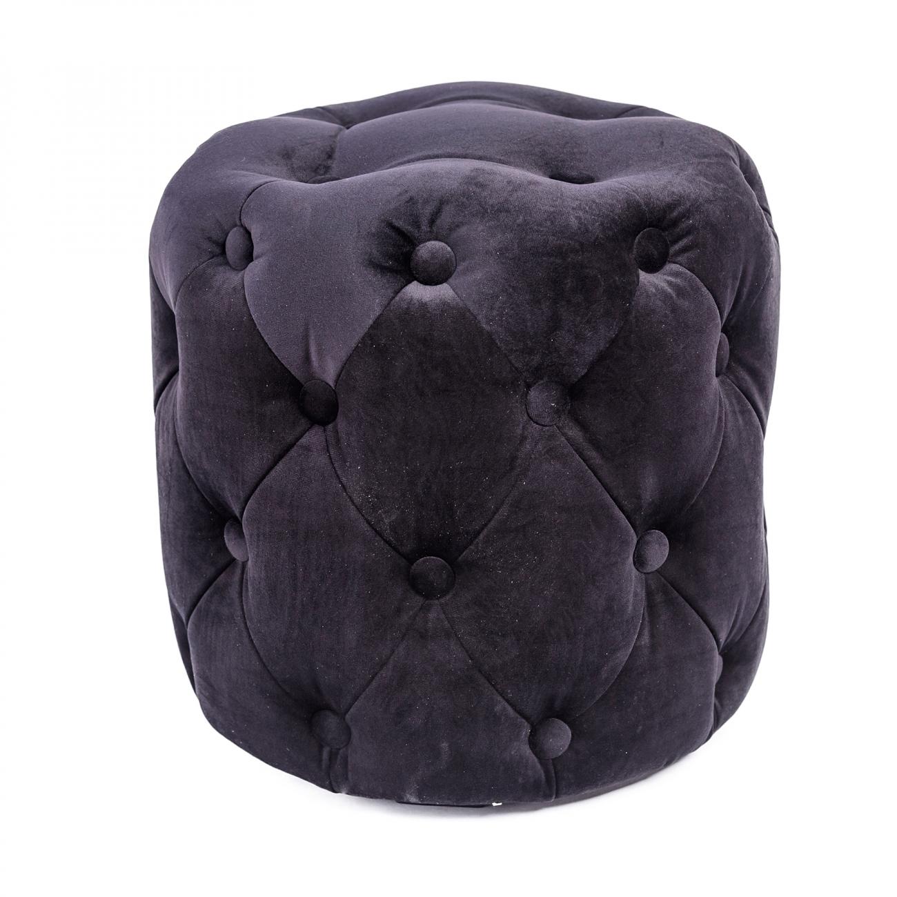 Купить Пуф Passion малый Чёрный в интернет магазине дизайнерской мебели и аксессуаров для дома и дачи