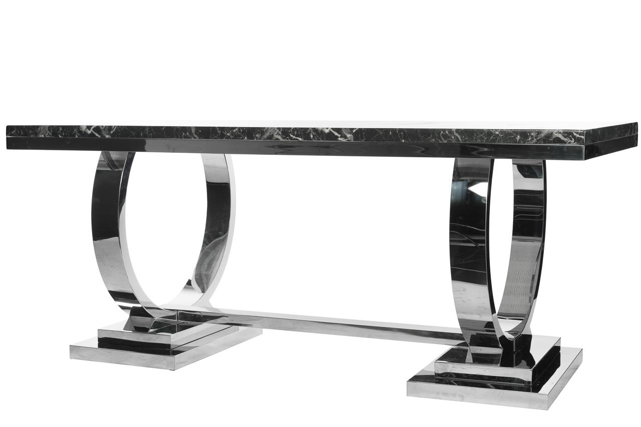 Купить Стол обеденный Donna Тёмно-Серый в интернет магазине дизайнерской мебели и аксессуаров для дома и дачи